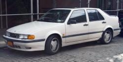 SAAB 9000 AERO white