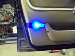 SAAB 9000 blue