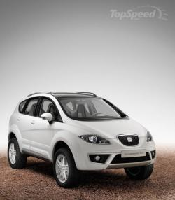 SEAT ALTEA brown