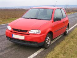 SEAT AROSA 1.0 red
