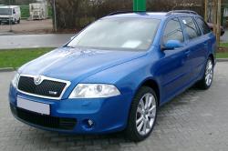 SKODA OCTAVIA blue