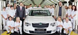 SKODA SUPERB 1.4 white