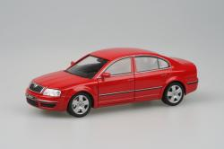 SKODA SUPERB red