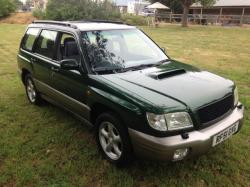 SUBARU FORESTER 2.0 green