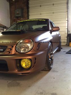 SUBARU IMPREZA brown