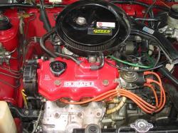 SUBARU JUSTY engine