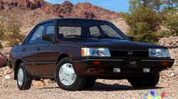 SUBARU LEONE brown