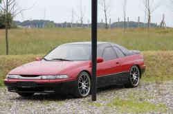 SUBARU SVX red