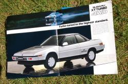 SUBARU XT 4WD white