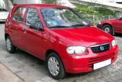 SUZUKI ALTO red