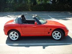 SUZUKI CAPPUCCINO TURBO red