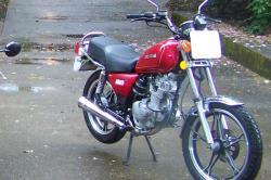 SUZUKI GN 125 brown
