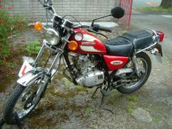 SUZUKI GN 125 engine