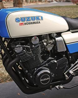 SUZUKI GS 1000 black