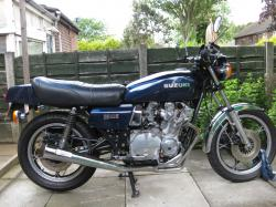 SUZUKI GS 1000 brown