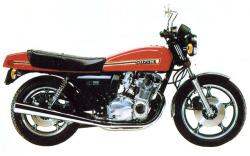 SUZUKI GS 1000 red