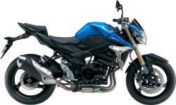 SUZUKI GSR 750 blue