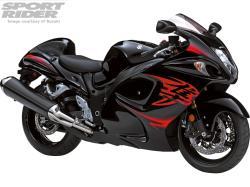 SUZUKI GSX 1300 black