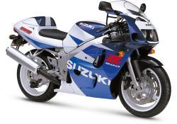SUZUKI GSX 600 blue