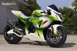 SUZUKI GSX-R 1000 green