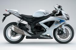 SUZUKI GSX-R600 white