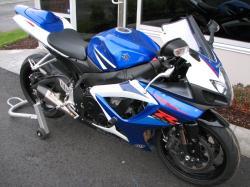 SUZUKI GSX-R750 blue
