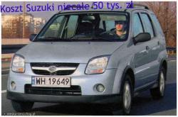 SUZUKI IGNIS white