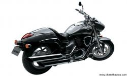 SUZUKI INTRUDER 125 brown