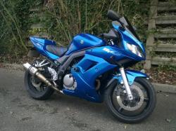 SUZUKI SV650 blue