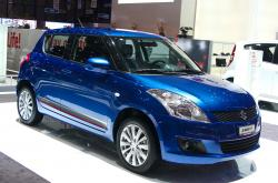 SUZUKI SWIFT blue