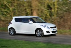 SUZUKI SWIFT brown