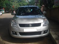 SUZUKI SWIFT silver