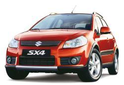 SUZUKI SX4 red