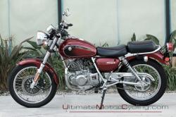 SUZUKI TU250 red