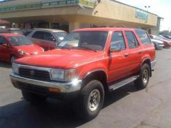 TOYOTA 4 RUNNER brown