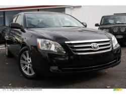 TOYOTA AVALON LIMITED black