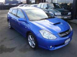 TOYOTA CALDINA GT-FOUR blue