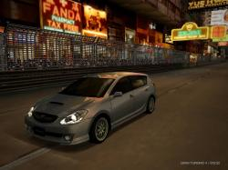 TOYOTA CALDINA GT-FOUR brown
