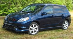 TOYOTA COROLLA MATRIX blue