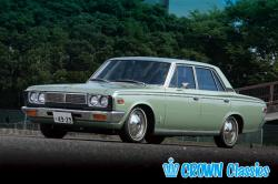 TOYOTA CROWN 2.5 red