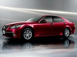 TOYOTA CROWN red