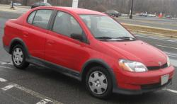 TOYOTA ECHO red