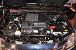 TOYOTA HILUX engine