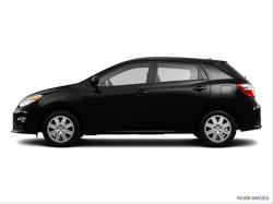 TOYOTA MATRIX black