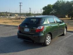 TOYOTA MATRIX green