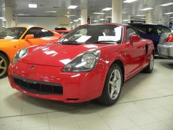 TOYOTA MR-S red