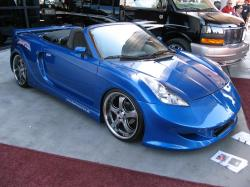 TOYOTA MR2 blue