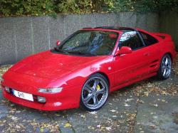 TOYOTA MR2 red