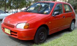 TOYOTA STARLET red