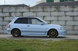 TOYOTA STARLET silver